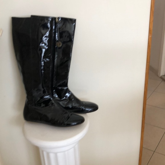 KATE SPADE SIZE 9 patent leather boots